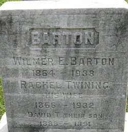 Rachel <I>Twining</I> Barton