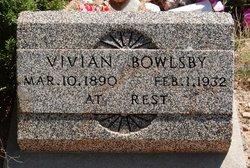Vivian <I>Garrison</I> Bowlsby