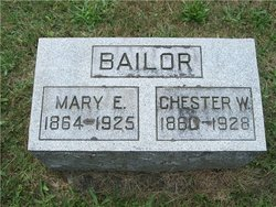Mary E <I>Ash</I> Bailor