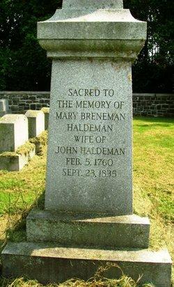 Maria <I>Brenneman</I> Haldeman