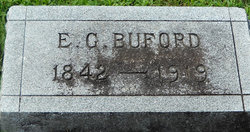 Pvt Elbridge Gerry Buford
