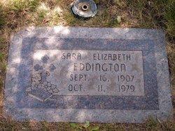 Sara Elizabeth <I>Johnson</I> Eddington