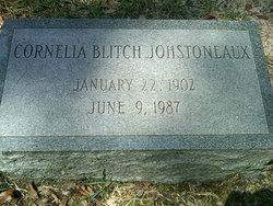 Cornelia Mikell <I>Blitch</I> Johstoneaux