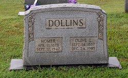Olive <I>Lindsey</I> Dollins