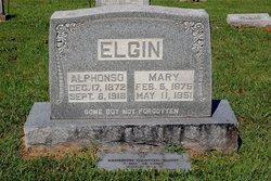 """Mary """"Mollie"""" <I>Goode</I> Elgin"""