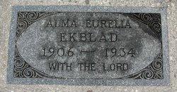 Alma Eurelia Ekblad