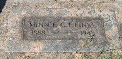 Minnie Catherine <I>Schulz</I> Heinke