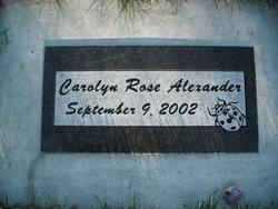 Carolyn Rose Alexander