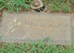 Effie Mae <I>Warren</I> Martin