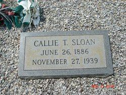 Callie <I>Tucker</I> Sloan