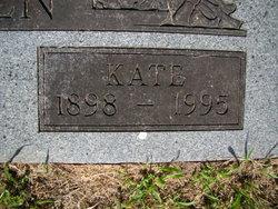 """Myrtle Katherine A. """"Kate"""" <I>DeGaff</I> Warren"""