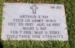 Arthur E Fay