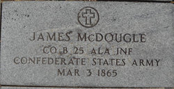 Pvt James McDougal
