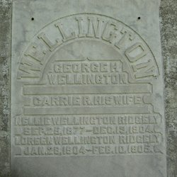 Loreen <I>Wellington</I> Ridgely