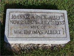Johnnie A. <I>Pack</I> Albert