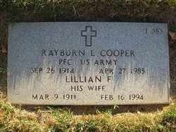 Rayburn L Cooper