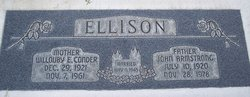 Willouby Elizabeth <I>Condor</I> Ellison