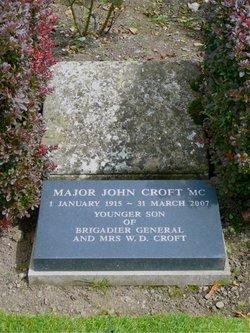 MAJ John Arientieres Croft