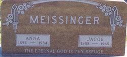 Anna C <I>Rossman</I> Meissinger