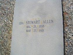 Ida <I>Stewart</I> Allen