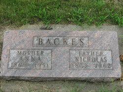 """Nicholas John """"Nick"""" Backes"""