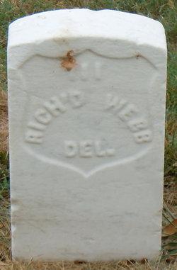 Pvt Richard T. Webb