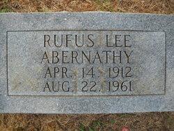 Rufus Lee Abernathy