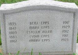Estella <I>Epps</I> Allen