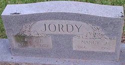 Nancy Jane <I>Lewis</I> Jordy