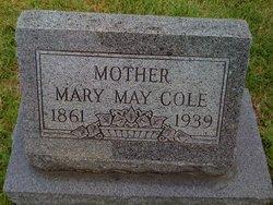 Mary May <I>Garner</I> Cole