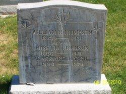 William Riley Thompson