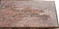Ozeta Myrtle <I>Ringer</I> Rogers