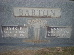 Anna Bell <I>Collins</I> Barton