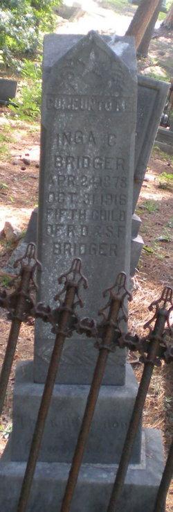 """Ingadozier Cash """"Inga"""" Bridger"""