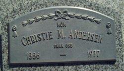 Christie Marie <I>Petersen</I> Andersen