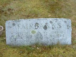 "Martha Elizabeth ""Lizzie"" <I>Lord</I> Fairbanks"