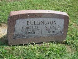 Cordelia <I>Williams</I> Bullington