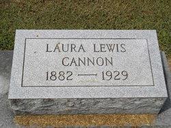 Laura Elizabeth <I>Lewis</I> Cannon
