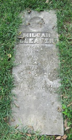 "Milcah ""Milky"" <I>Cleaver</I> Biddinger"