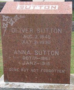 Anna Emma <I>Lienhart</I> Sutton