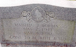 Martha Jane <I>Carroll</I> Robbins