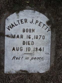 Walter J Petty