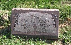 Opal Lee <I>Newcum</I> Adams