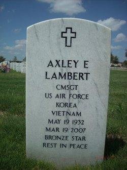 Axley E Lambert