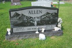 """Janet Lee """"Janie"""" <I>Wooten</I> Allen"""