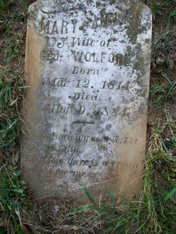 Mary Ann <I>Hancher</I> Wolford