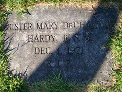 """Sr Mary de Chantal """"(Born: Clara Regina Hardy)"""" Hardy"""
