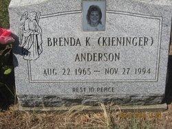 Brenda K <I>Kieninger</I> Anderson