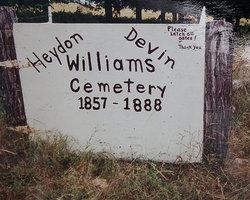 Heydon-Williams-Devin Cemetery