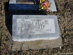 Lura H <I>Felton</I> Bennett